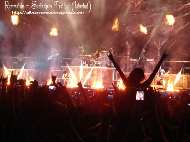 گروه Rammstein در فستیوال sonisphere