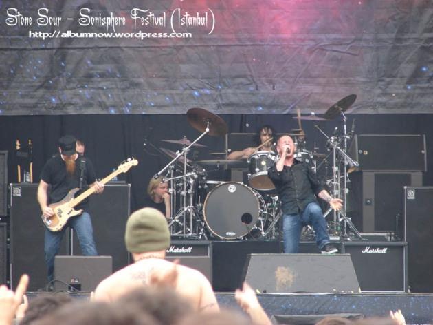 گروه Stone Sour در فستیوال sonisphere
