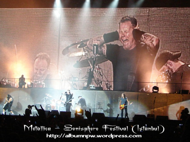 اجرای Metallica در فستیوال Sonisphere استانبول