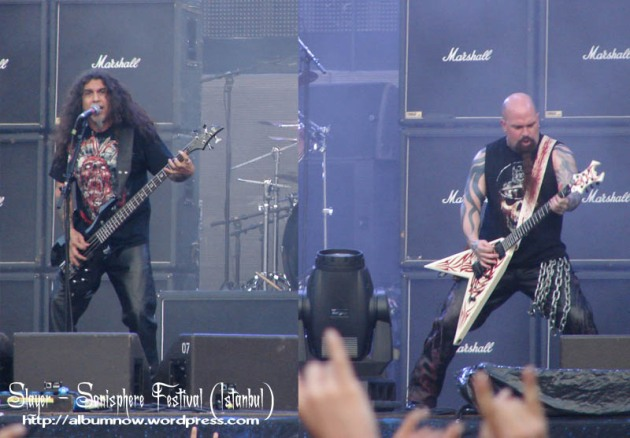 اجرای Slayer در فستیوال Sonisphere استانبول